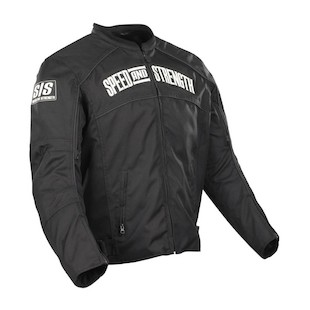 Speed and Strength Seven Sins Textile Jacket (Color: Black / Size: 4XL) 798855