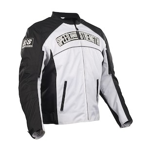 Speed and Strength Seven Sins Textile Jacket (Color: White / Size: MD) 821220