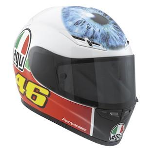AGV GP-Tech Mugello Valentino's Eye LE Helmet (Color: Red/White/Green / Size: MD) 825933