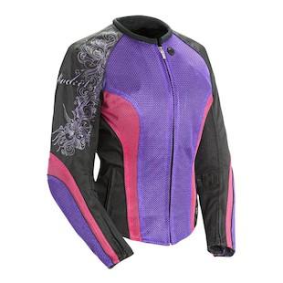 Joe Rocket Cleo 2.2 Women's Jacket (Color: Purple/Pink/Black / Size: MD) 826538