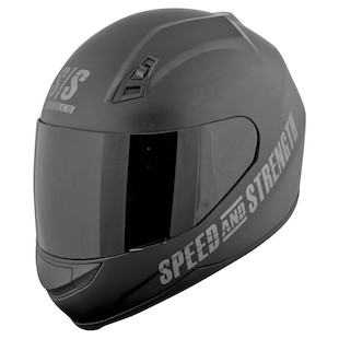 Speed and Strength SS700 Go For Broke Helmet (Color: Matte Black / Size: 2XL) 827703