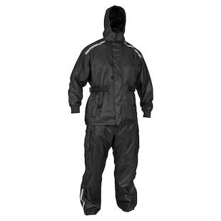 River Road Tempest 2-Piece Rain Suit (Color: Black / Size: MD) 820238