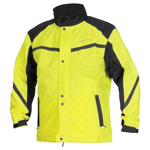 Firstgear Sierra Day Glo Rain Jacket (Color: Hi-Viz Yellow / Size: XL) 819944