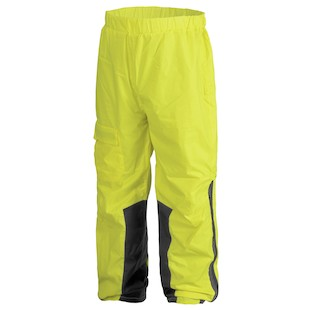 Firstgear Sierra Day Glo Rain Pants (Color: Hi-Viz Yellow / Size: MD) 819949