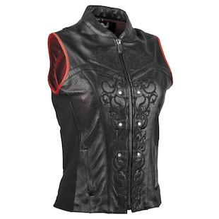 Speed and Strength Motolisa Women's Vest (Color: Black / Size: W2XL) 828540