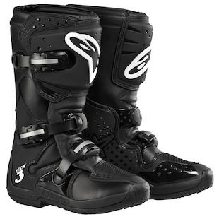 Alpinestars Stella Tech 3 Boots (Color: Black / Size: 6) 506845