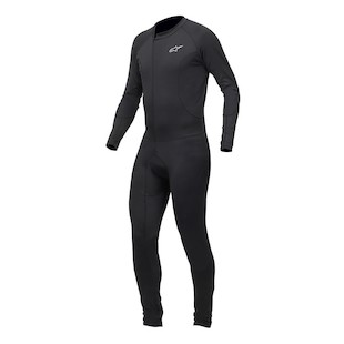 Alpinestars Summer Tech Race Undersuit (Color: Black / Size: SM) 304073
