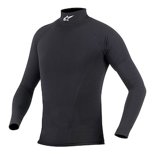Alpinestars Summer Tech Long Sleeve Top (Color: Black / Size: XS-SM) 505432