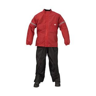 Nelson Rigg Weatherpro Rain Suit (Color: Black/Red / Size: 3XL) 1144657