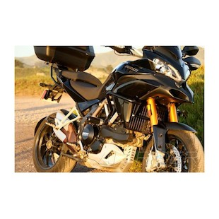 AltRider Crash Bars & Frame Slider Kit Ducati Multistrada 1200 2010-2014 (Color: Black) 777405
