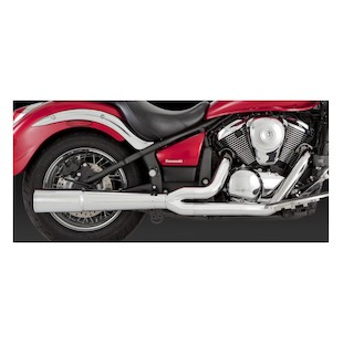Vance & Hines Pro Pipe Chrome Exhaust Vulcan VN900 2006-2015 832390