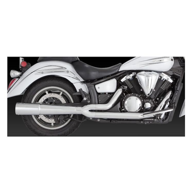 Vance & Hines Pro Pipe Chrome Exhaust XV1300 V-Star 2006-2015