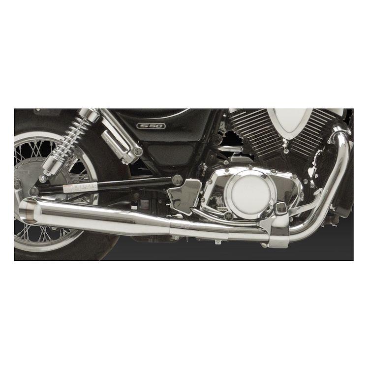 Vance & Hines Classics II Slip-On Mufflers Suzuki Intruder VS700/VS800 1987-2005
