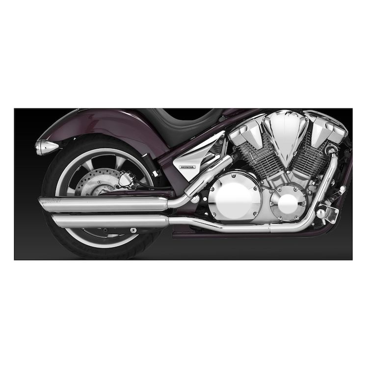 Vance & Hines Twin Slash Slip-On Mufflers Honda Fury VT1300 2009-2017