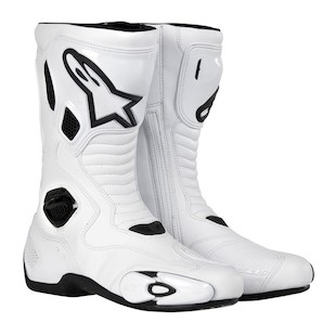 Alpinestars S-MX 5 Boots (Color: White/Black / Size: 50) 506556