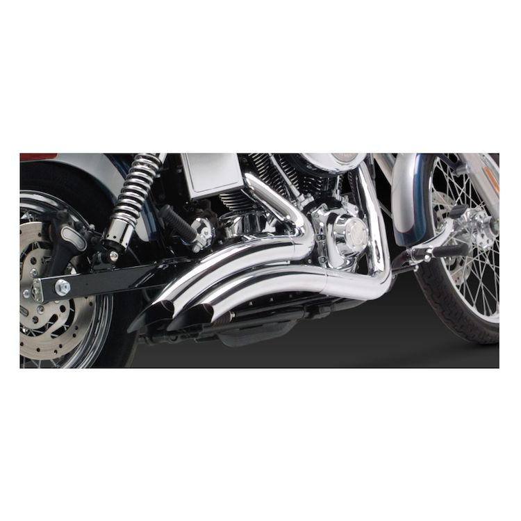 Vance & Hines Big Radius Exhaust For Harley Dyna 1991-2005