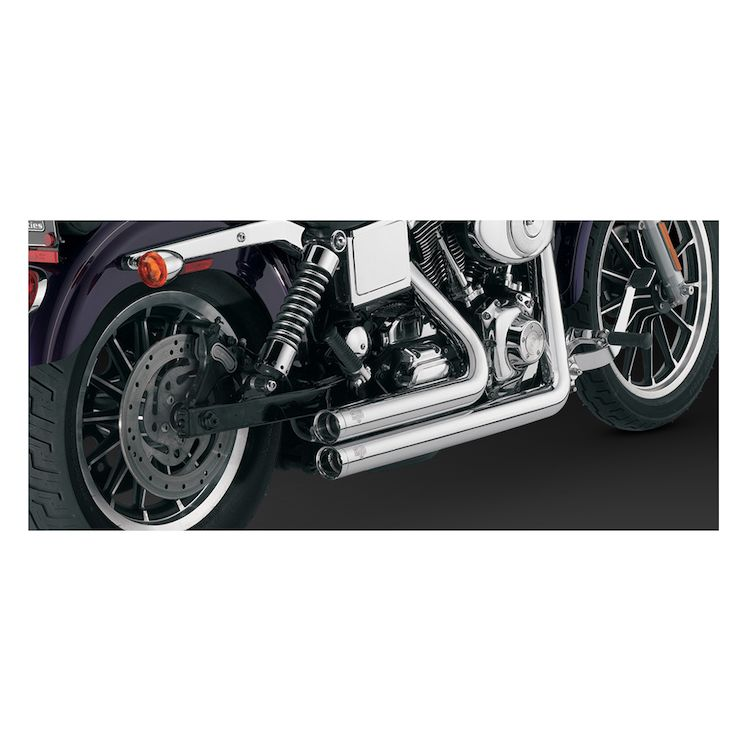 Vance & Hines Shortshots Original Exhaust For Harley Dyna 1991-2005