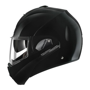 Shark Evoline 3 ST Helmet - Solid Colors (Color: Black / Size: LG) 836027