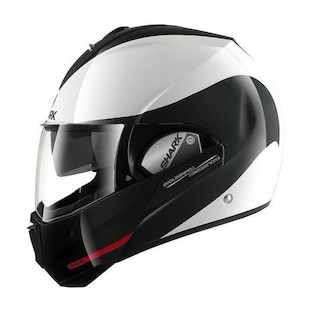 Shark Evoline 3 ST Hakka Helmet (Color: White/Black/Red / Size: MD) 836005