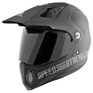 Speed and Strength SS2500 Hell 'N Back Helmet (Color: Matte Black / Size: 2XL) 838873