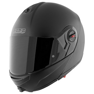 Speed and Strength SS1700 Solid Speed Modular Helmet (Color: Matte Black / Size: SM) 838839