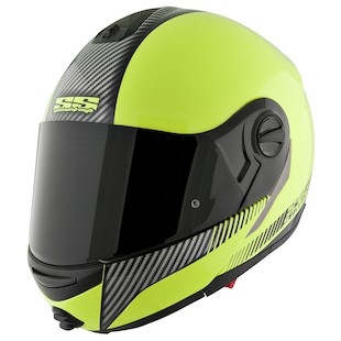 Speed and Strength SS1700 Lock and Load HV Modular Helmet (Color: Hi-Viz Green / Size: XL) 838852