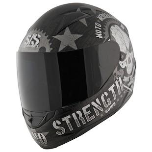 Speed and Strength SS1100 Moto Mercenary Helmet (Color: White / Size: XL) 876198