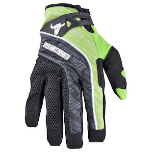 Speed and Strength Lunatic Fringe Gloves (Color: Green / Size: MD) 838791