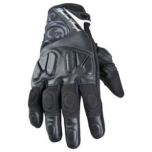 Speed and Strength Cat Out'a Hell Women's Gloves (Color: Black / Size: WXL) 838806