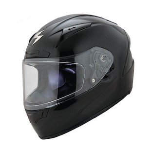 Scorpion EXO-R2000 Dispatch Full Face Motorcycle Helmet - Black / Blue