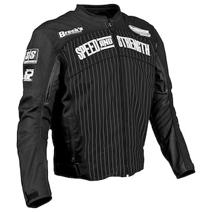 Speed and Strength 62 Motorsports Jacket (Color: Black / Size: XL) 838929