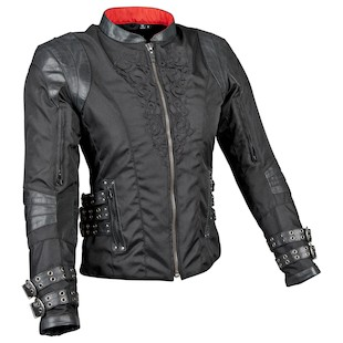 Speed and Strength Motolisa Women's Jacket (Color: Black / Size: MD) 838939