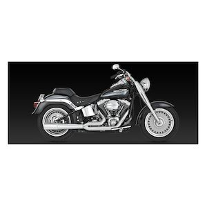 Rinehart 2-Into-1 Exhaust For Harley Softail 1986-2017