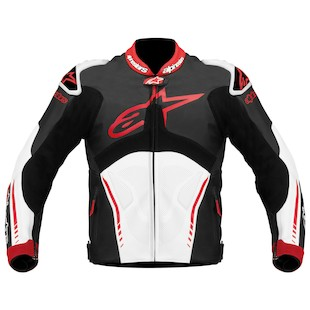 Alpinestars Atem Jacket (Color: Black/White/Red / Size: 50) 844306