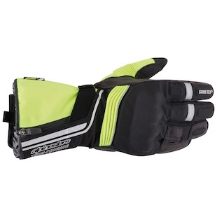 Alpinestars Jet Road Gore-Tex Gloves (Color: Black/Florescent Yellow / Size: MD) 844424