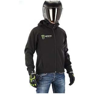 Alpinestars Cloak Fleece Jacket (Size 2XL Only) (Color: Black/Green / Size: 2XL) 844268