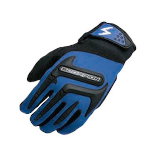 Scorpion Youth Skrub Gloves (Color: Blue / Size: MD) 841074