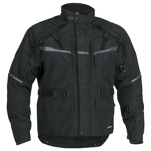 Firstgear Jaunt T2 Jacket (Color: Black / Size: MD (Tall)) 839741