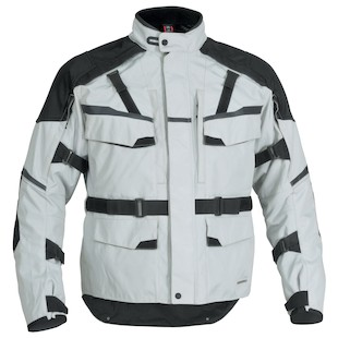 Firstgear Jaunt T2 Jacket (Color: Silver/Black / Size: 3XL) 839748