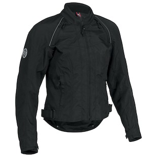 Firstgear Contour Women's Textile Jacket (Color: Black / Size: 2XL) 840785