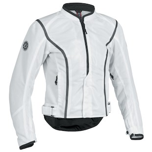 Firstgear Contour Women's Mesh Jacket (Color: White / Size: W3XL) 839875