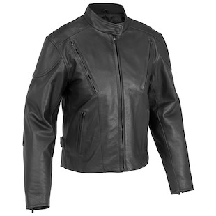 River Road Race Vented Women's Jacket [Size 3XL Only] (Color: Black / Size: W3XL) 840521