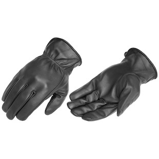 River Road Rally Gloves (Color: Black / Size: LG) 840562
