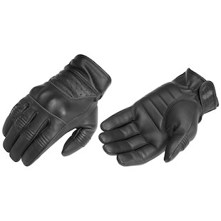 River Road Twin Iron Gloves (Color: Black / Size: SM) 840558