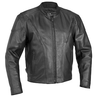 River Road Race Vented Jacket (Color: Black / Size: 46) 840529