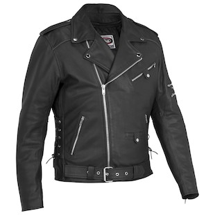 River Road Ironclad Perforated Jacket (Size 64 Only) (Color: Black / Size: 64) 840511
