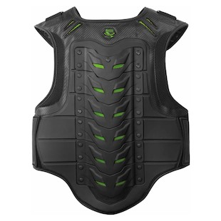 Icon Stryker Vest (Color: Black/Green / Size: SM-MD) 847388