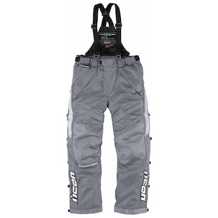 Icon Patrol Raiden Waterproof Over Pants (3XL) (Color: Grey / Size: 3XL) 847480