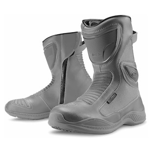 Icon Reign Waterproof Women's Boots (Color: Grey / Size: 7) 847484