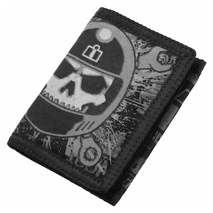 Icon Busted & Broken Wallet (Color: Black) 847562